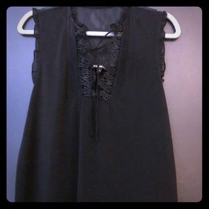 Express lace babydoll top